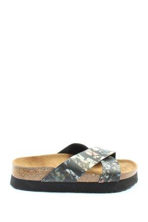 Papillio Comfort Sandals flower pattern casual look