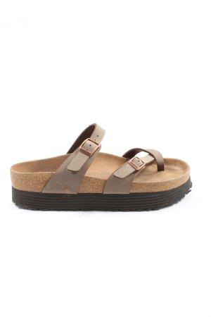 Papillio Comfort Sandals brown casual look