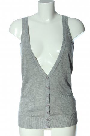 Papillonne Knitted Vest light grey casual look