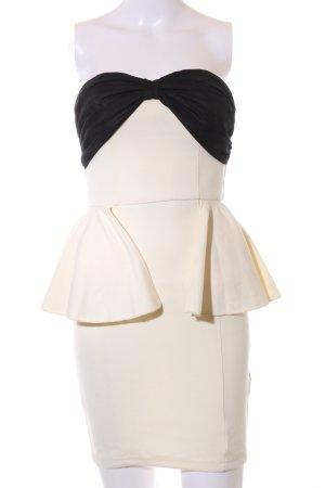 Paprika Bandeau Dress natural white-black elegant