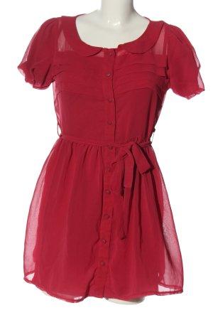 Paprika Abito a maniche corte rosa stile casual