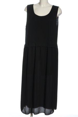 Paprika Vestido largo negro look casual