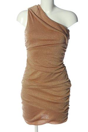 Paprika Minikleid goldfarben Elegant