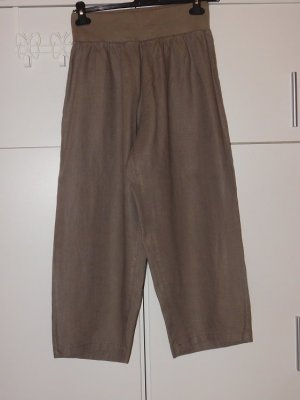 Paprika Pantalon en lin kaki-gris vert lin