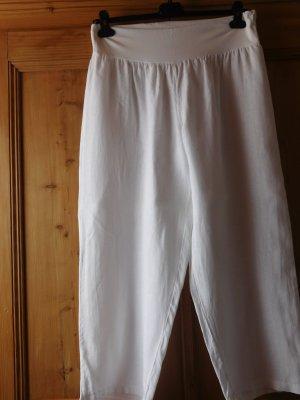 Paprika Pantalon en lin blanc lin