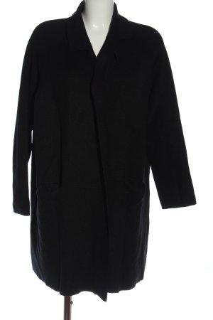 Paprika Cappotto a maglia nero stile casual
