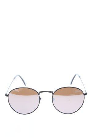 Parafina ovale Sonnenbrille schwarz Casual-Look