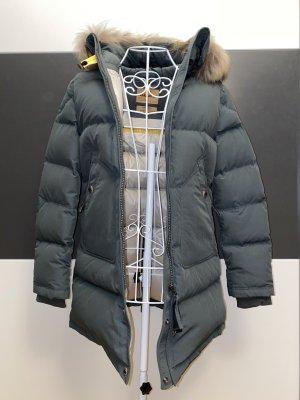 Parajumpers dunkelgrüne Light Long Bear Jacke in XXS/XS