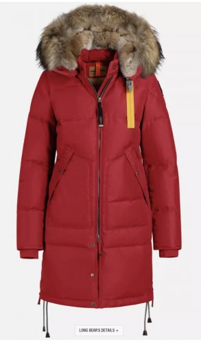 Parajumpers Down Coat red