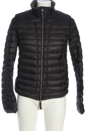 Parajumpers Pikowana kurtka czarny Pikowany wzór W stylu casual