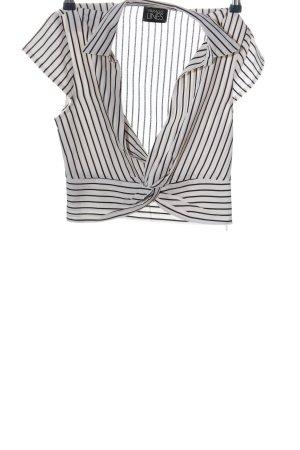 Parallel Lines Kurzarm-Bluse