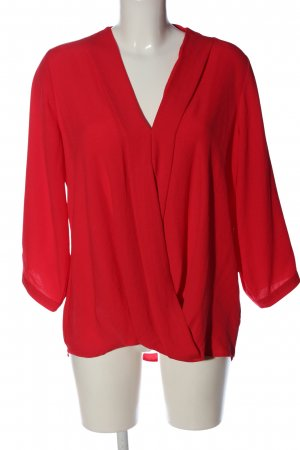 Paraphrase Langarm-Bluse rot Casual-Look