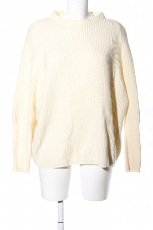 Paraphrase Oversized Pullover creme Zopfmuster Casual-Look