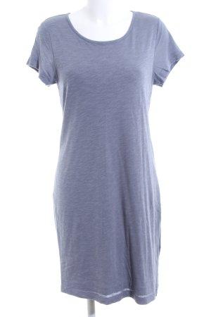 Paraphrase Shirtkleid blau meliert Casual-Look