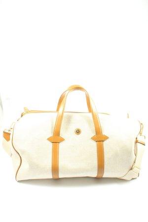 Paravel Sac weekender blanc cassé-orange clair style décontracté
