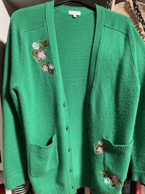 Parenti's Cardigan in maglia verde-verde bosco Cachemire