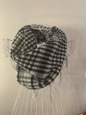 Pareo Schal Rock schwarz weiß