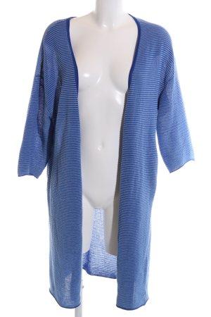 Parfois Cardigan blau Streifenmuster Casual-Look