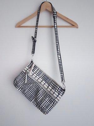Parfois Handtasche schwarz weiß