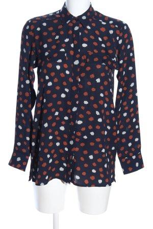 Parfois Langarm-Bluse abstraktes Muster Casual-Look