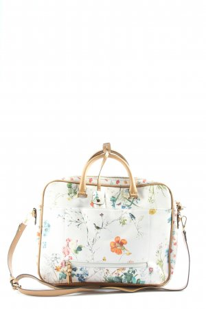Parfois Laptop bag flower pattern casual look