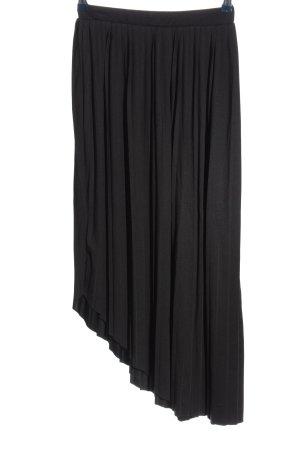 Parfois Pleated Skirt black casual look