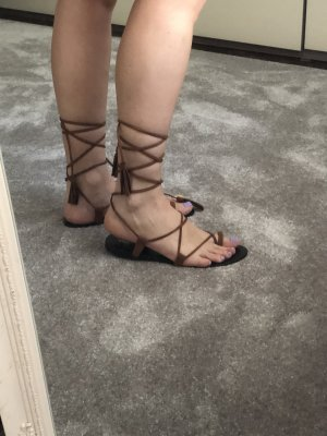 Parfois Roman Sandals light brown-brown