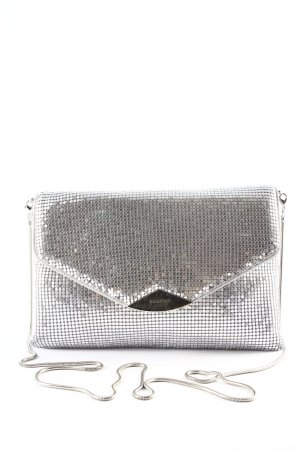Parfois Shoulder Bag silver-colored elegant