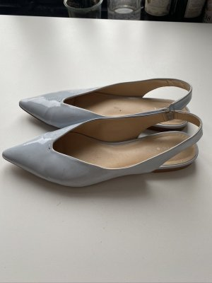 Parfois Slingback Ballerinas azure leather