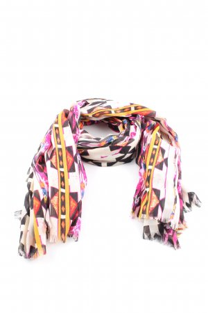 Parfois Summer Scarf abstract pattern casual look