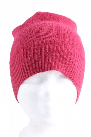 Parfois Knitted Hat pink casual look