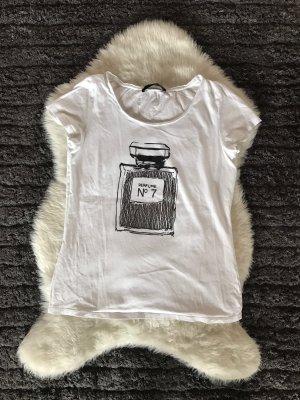 Hallhuber Crochet Shirt white