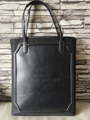 Parfums Givenchy Tasche Leder Stoff schwarz groß