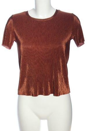 Paris Atelier Cropped Top bronzefarben Casual-Look