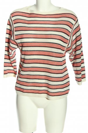 Paris Atelier Knitted Sweater striped pattern casual look