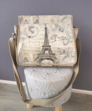 Porte-documents beige-beige clair