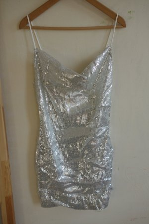 Missguided Sequin Dress multicolored polyester