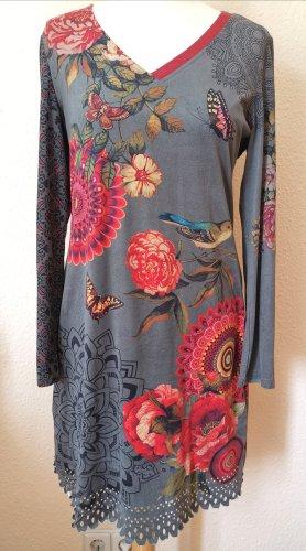 101 Idees Sukienka z długim rękawem Wielokolorowy