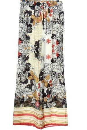 Parisian Baggy Pants abstraktes Muster Casual-Look