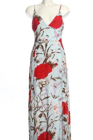 Parisian Empire Dress allover print casual look