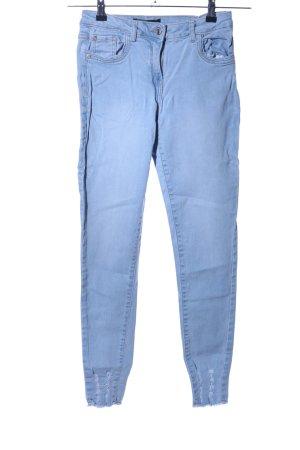 Parisian High Waist Jeans blue casual look