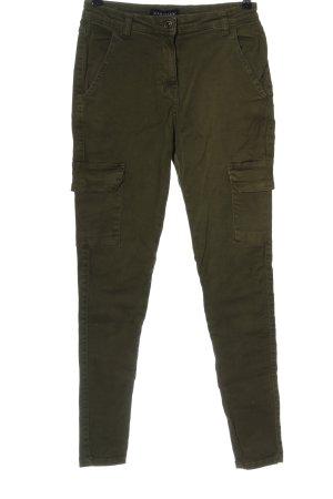 Parisian High Waist Jeans khaki casual look