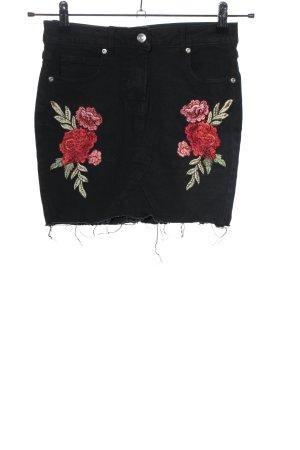 Parisian Denim Skirt black casual look