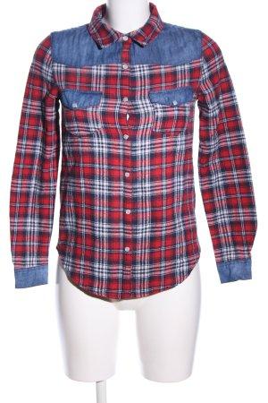 Parisian Long Sleeve Shirt check pattern casual look