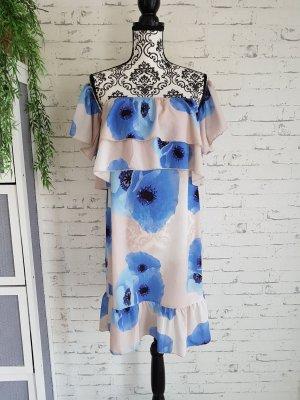 Parisian Neu schönes Volant Sommer Kleid Gr.38 M creme