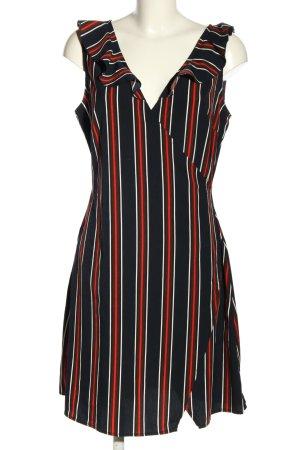 Parisian Sommerkleid Streifenmuster Casual-Look