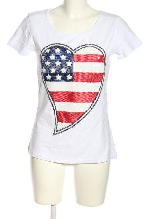 Parisian T-Shirt themed print casual look
