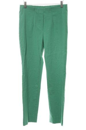 Parisienne Pantalon taille haute vert style décontracté