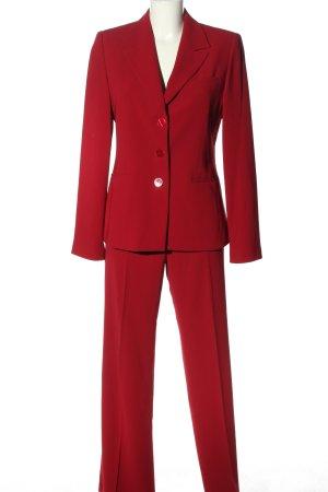 Park Bravo Tailleur-pantalon rouge style décontracté