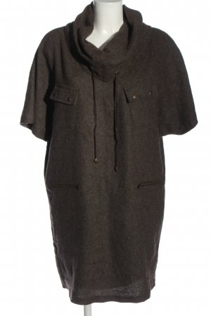 Park Bravo Sweater Dress brown flecked casual look